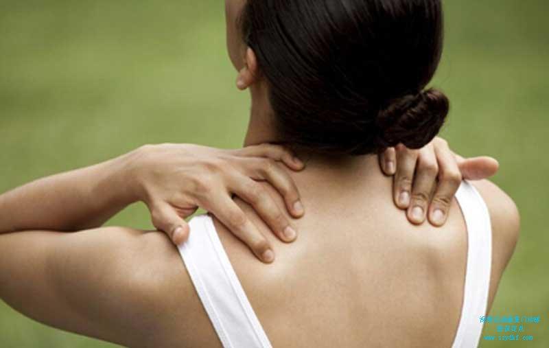 颈肩部疼痛不适伴左上肢麻木