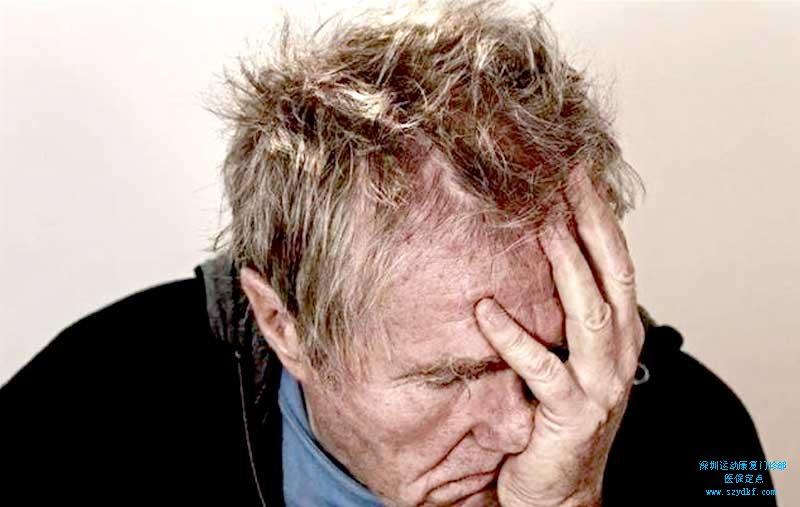颈部酸痛伴头晕,轻微手麻-颈椎病