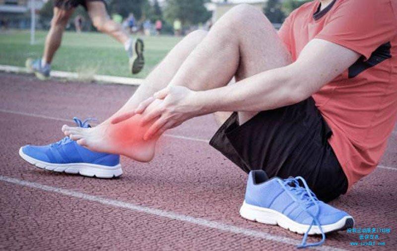 扭伤左踝关节致疼痛-创伤性踝关节炎