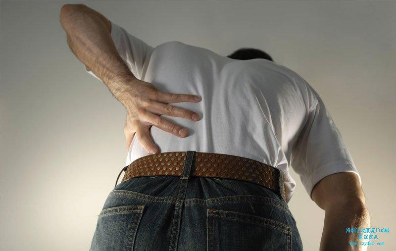 久坐后出现右臀部疼痛-腰椎间盘突出症