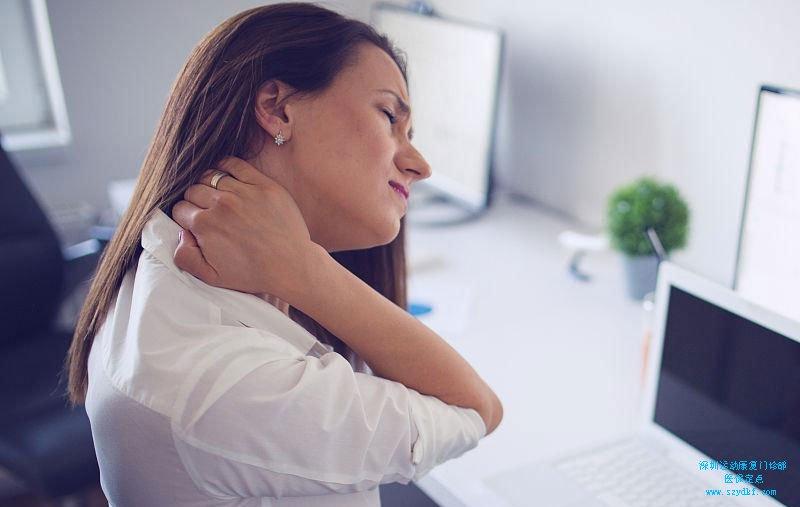 颈椎生理曲度变直,寰枢间隙不等宽-颈椎病