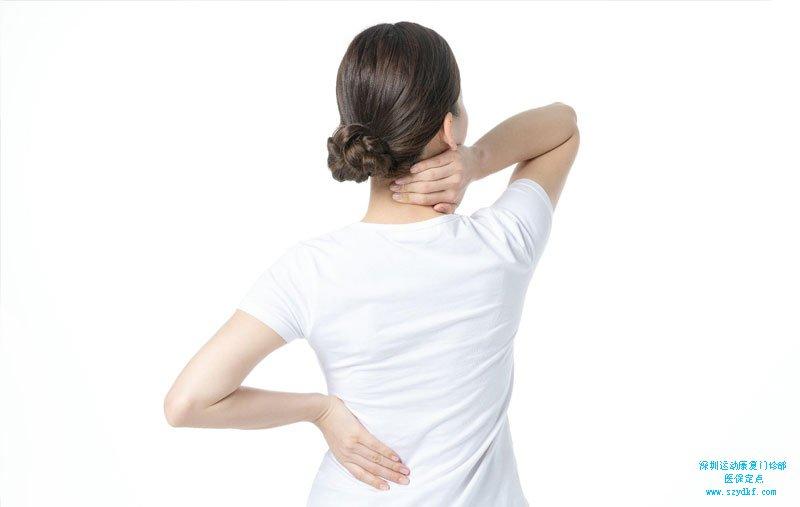 颈部酸痛半年-颈椎病-落枕