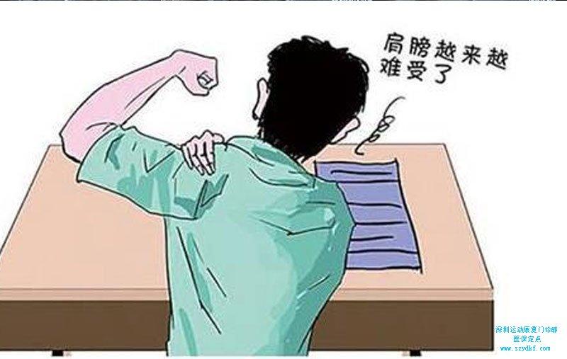 颈肩部伴右上肢疼痛4天-颈椎病
