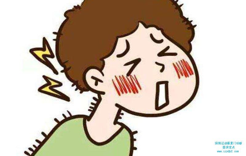 颈肩部疼痛1年余-颈椎病