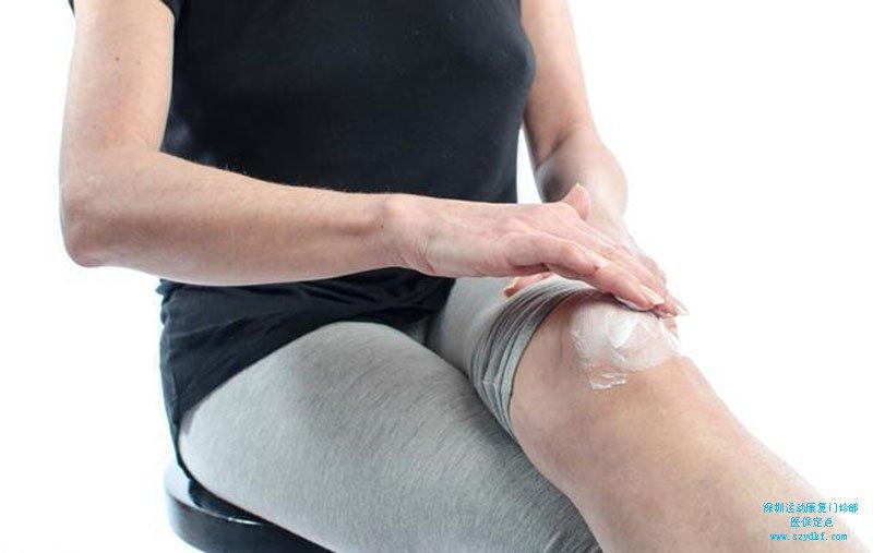 右膝关节积液,右膝关节前叉韧带断